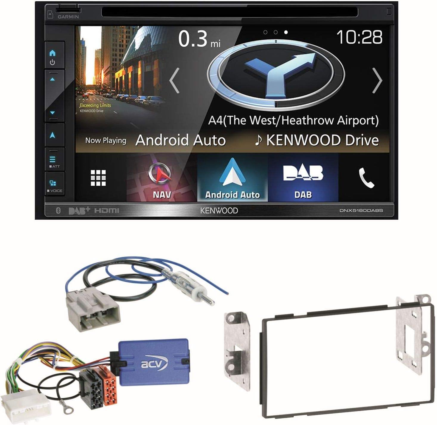 Kenwood DNX de 5180dabs Navegación naviceiver Bluetooth Radio ...