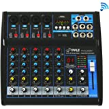 Pyle Professional Audio Mixer Sound Board Console - Desk System Interface with 6 Channel