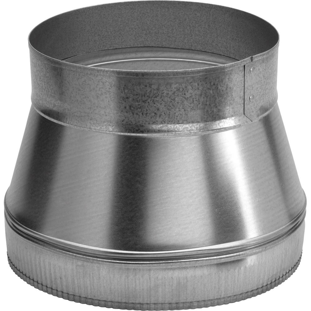 "outlet Broan 414 8"" to 10"" Round Duct Transition, NA"