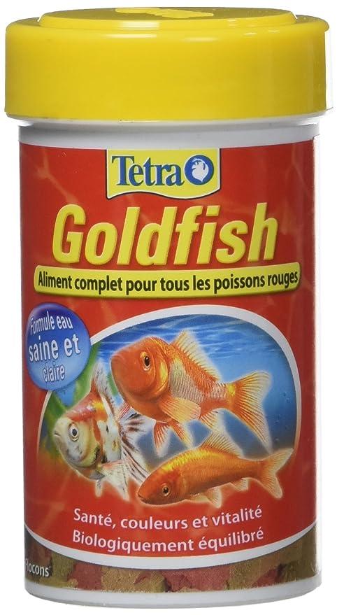 Tetra Goldfish - Alimento Completo en Copos para Peces Rojo - 100 ml