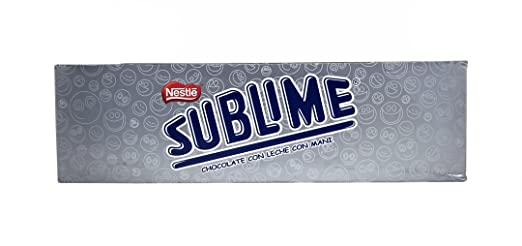 Amazon.com : Sublime Chocolate Con Leche Y Mani/chocolate with Milk and Peanuts : Candy And Chocolate Covered Nut Snacks : Grocery & Gourmet Food