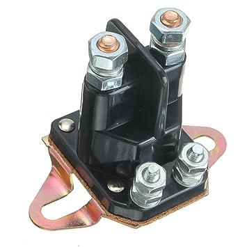GOZAR 12V Starter Magnet Relais Schütz Schalter Motor Für Briggs ...
