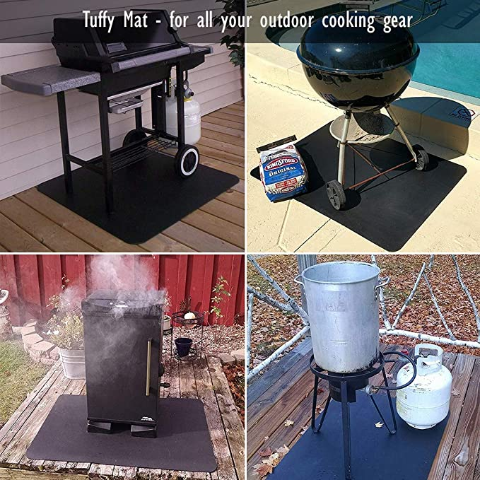 Amazon.com: Tuffy - Alfombrilla protectora para barbacoa ...