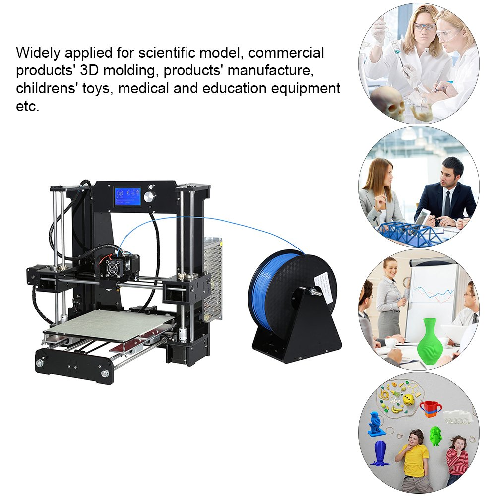 Aibecy Anet A6 Kits de impresora 3D de sobremesa de gran tamaño y ...