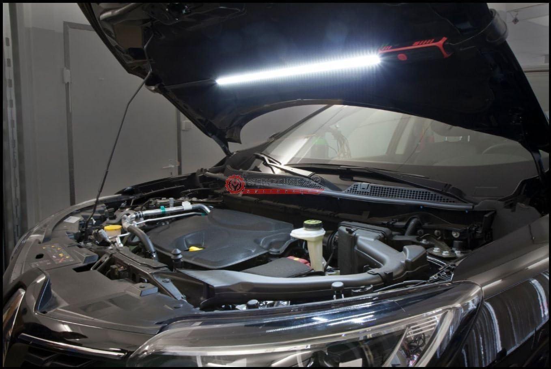 Mit Zubehör Wiederaufladbar! Motorraumlampe Motorraum Leuchte Werkstattlampe