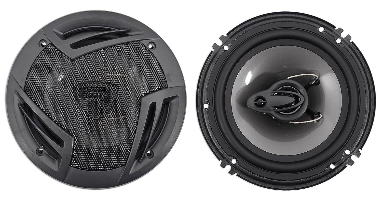 Pair Rockville RV6.3A 6.5' 3-Way Car Speakers 750 Watts/140 Watts RMS CEA Rated Audiosavings