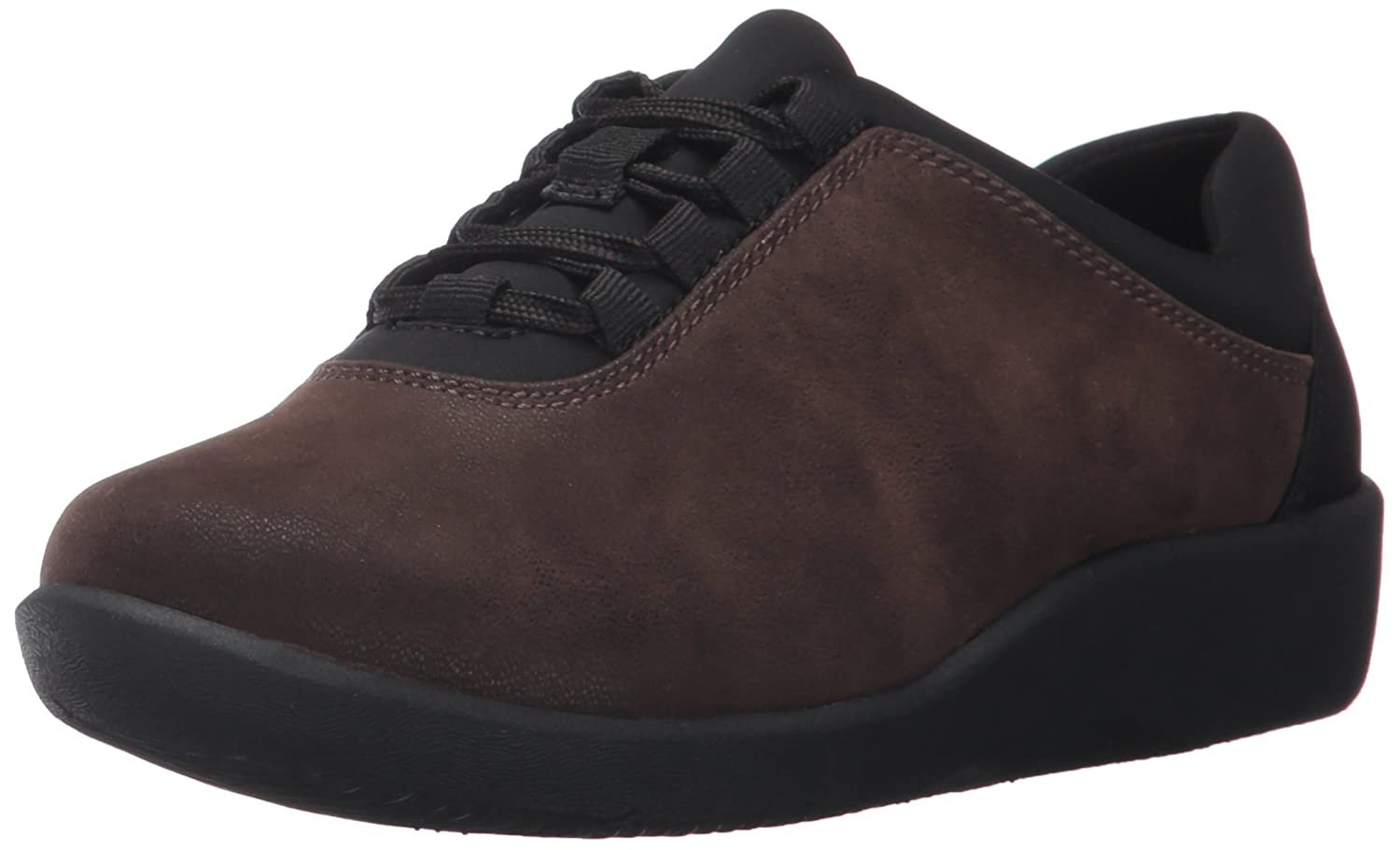CLARKS Women's Sillian Pine Walking Shoe B01N9H9VG2 7 N US|Brown Synthetic