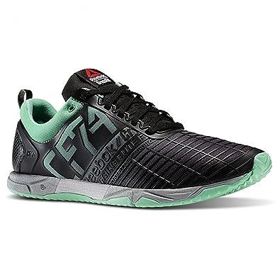 Reebok Men s Crossfit Athlete Select Pack Sprint Tr Sneakers Mint  Glow Black Silver Size febbe96b3