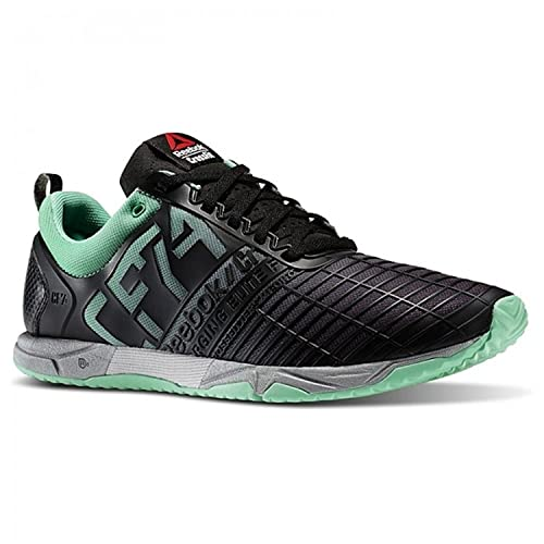 Hombre Crossfit Athlete Select Pack Zapatillas Sprint Tr Mint Glow / Black / Silver Size 13: Amazon.es: Zapatos y complementos