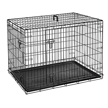Nido Del Animal Doméstico Jaula De Alambre Engrosamiento Jaula Para Perros Pequeño Mediano Y Grande Perro