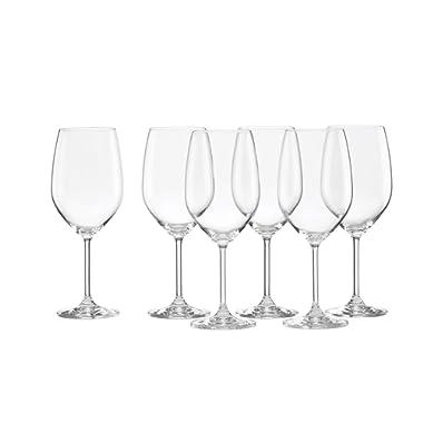 Lenox Tuscany Classics White Wine Glasses, Buy 4, Get 6, 21 ounces - 887610