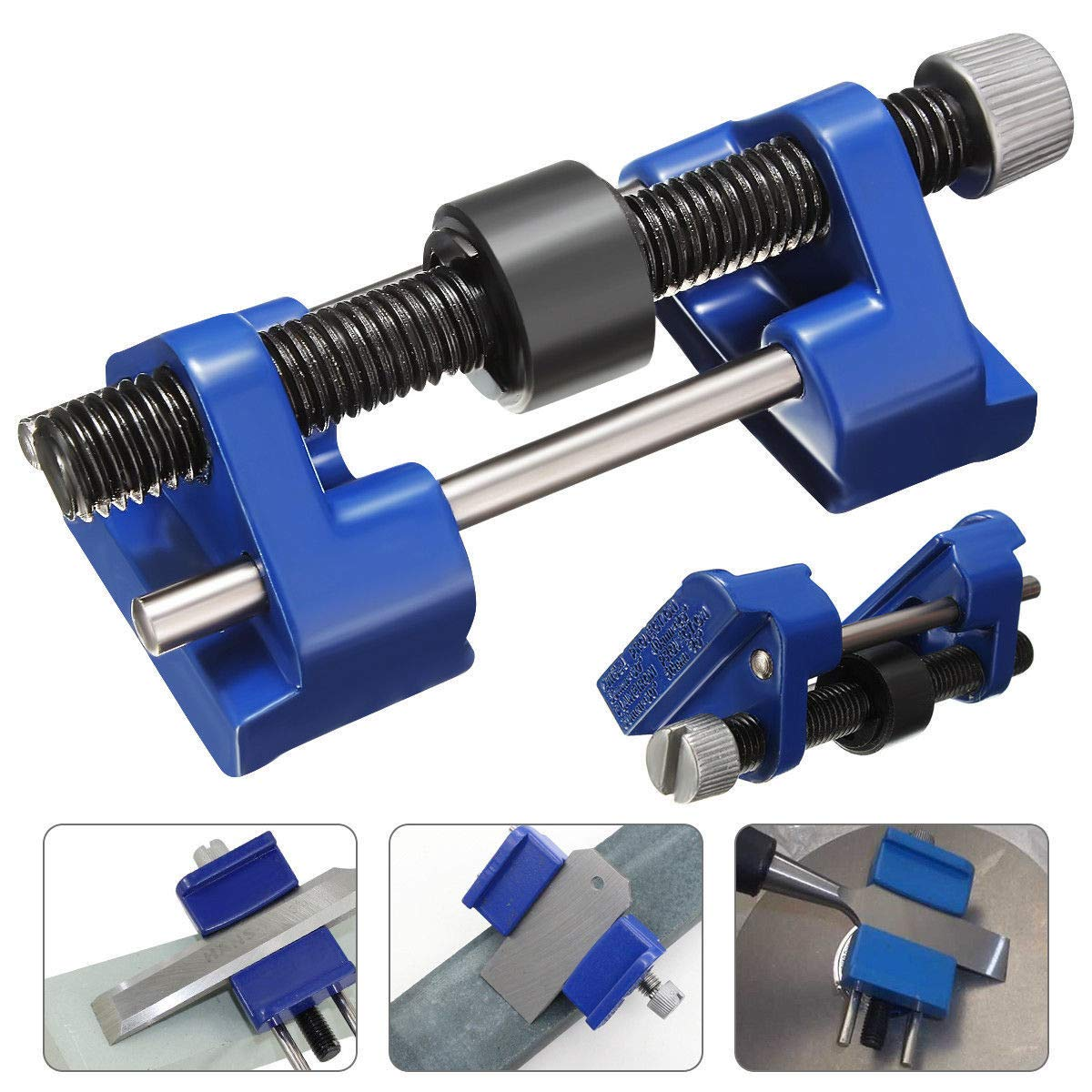 Honing Guide Jig for Sharpening System Adjustable Stainless Steel Honing Guide Chisel Plane Iron Planers Blade