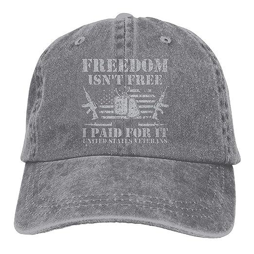Us Army Vietnam Iraq Combat Veteran Dad Hat Adjustable Denim Hat