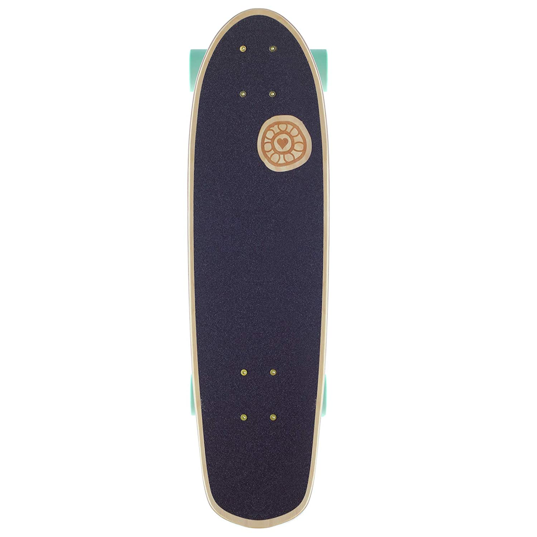 Kelly /& Shiva BTFL Longboards Mini Cruiser
