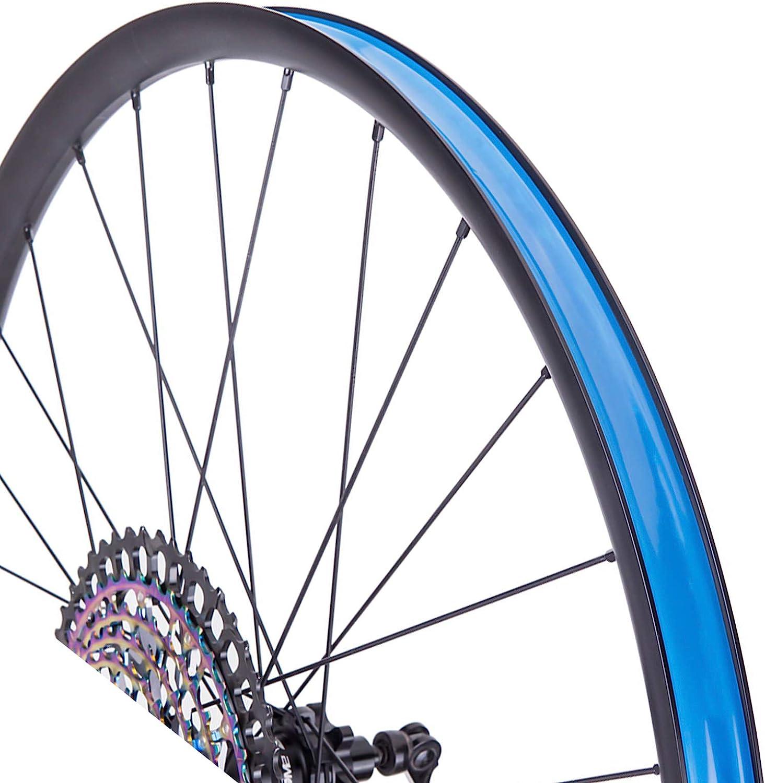 Cinta de llanta 21mmx10m Bicicleta Cinta de llanta de llanta Azul Evita Pinchazos Cinta de Coj/ín de Neum/ático para MTB Road Bike
