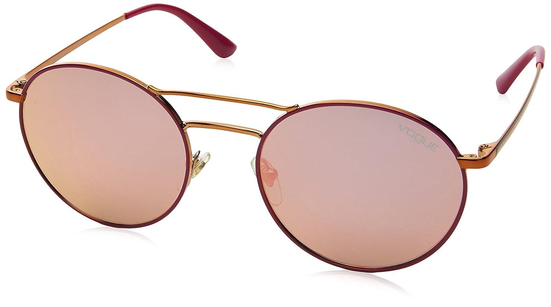 Vogue 0vo4061s 50534z 52 Gafas de Sol, Copper/Fucsia, Mujer ...