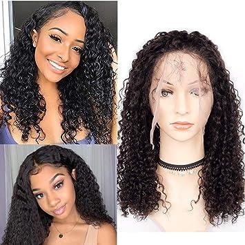 b720a4864 Goldfinch 360 Lace Frontal Wigs 150% Density Human Hair Bob Wigs Kinky Curly  Brazilian Virgin