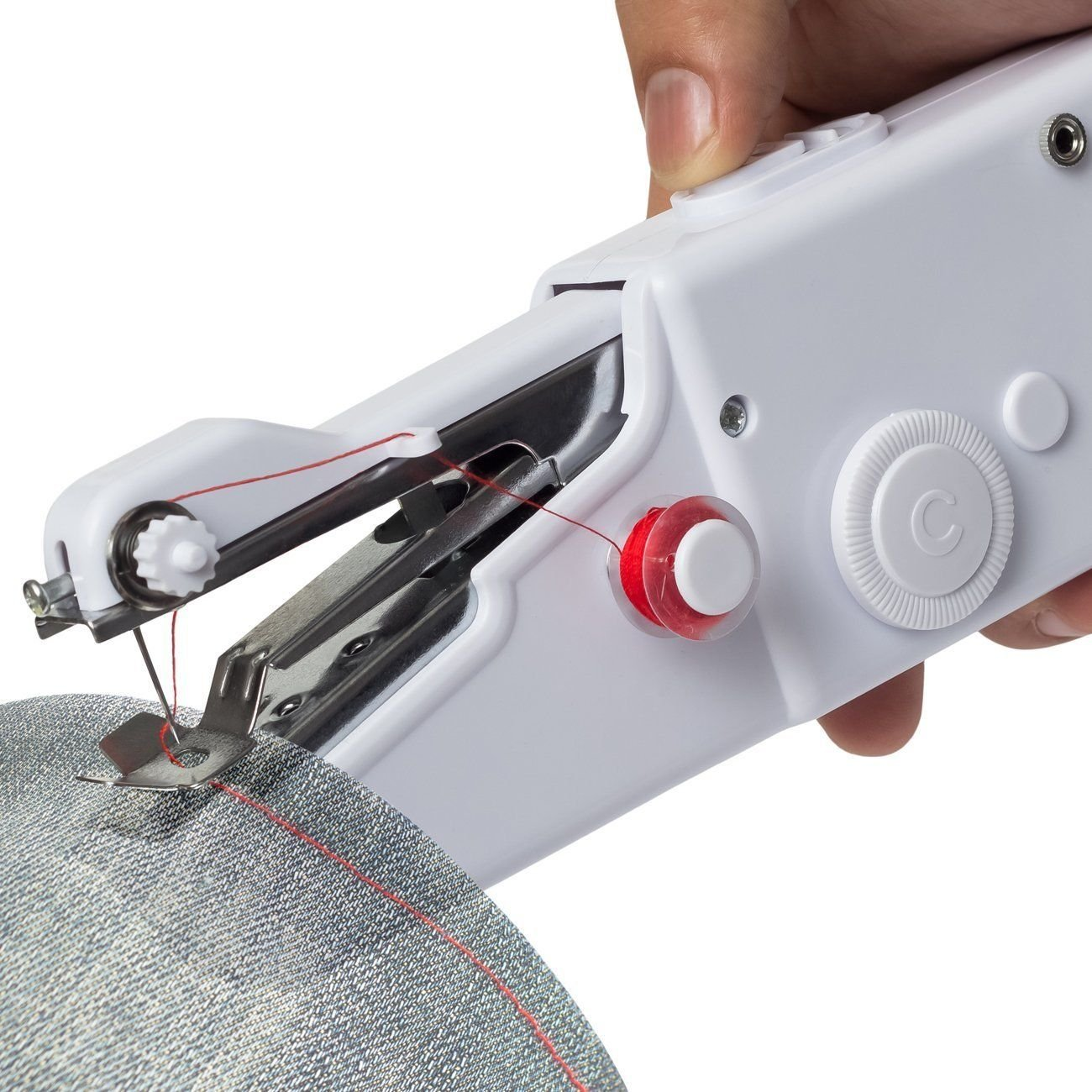 Mini Portable Household Handy Stitch Electric Handheld Sewing Machine +Bonus supplier_modernway1984 by willynsional