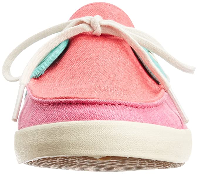 f7cc9b873fff Vans Women s Chauffette Tri Tone Seashell Pink and Rosebloom Canvas  Sneakers - 7 UK  Buy Online at Low Prices in India - Amazon.in
