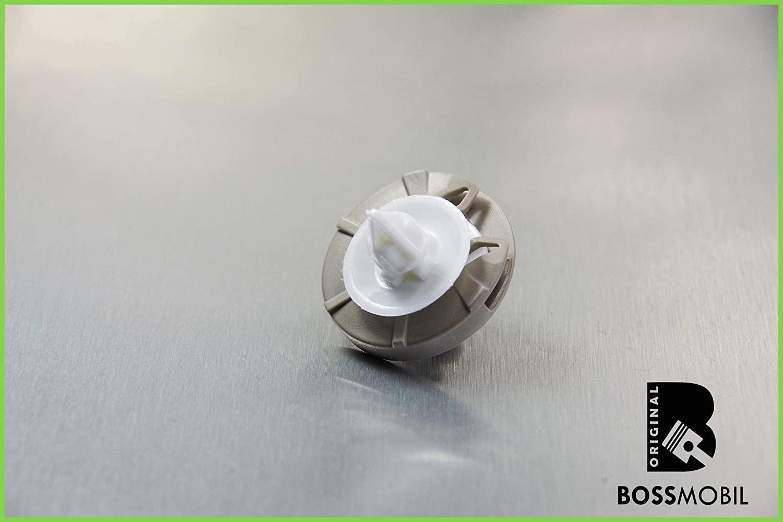 Original BOSSMOBIL kompatibel mit INNENVERKLEIDUNG T/ÜRVERKLEIDUNG BEFESTIGUNG CLIP KLAMMER HALTER 1H0868243#NEU# 28 X 13 X 10 x 8 mm Menge 20 St/ück