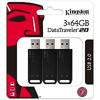 Dt2064GB-2P - Pen Drive De 64GB Usb 2.0 Data Traveler Série 20 (Kit Com 2 Unidades)