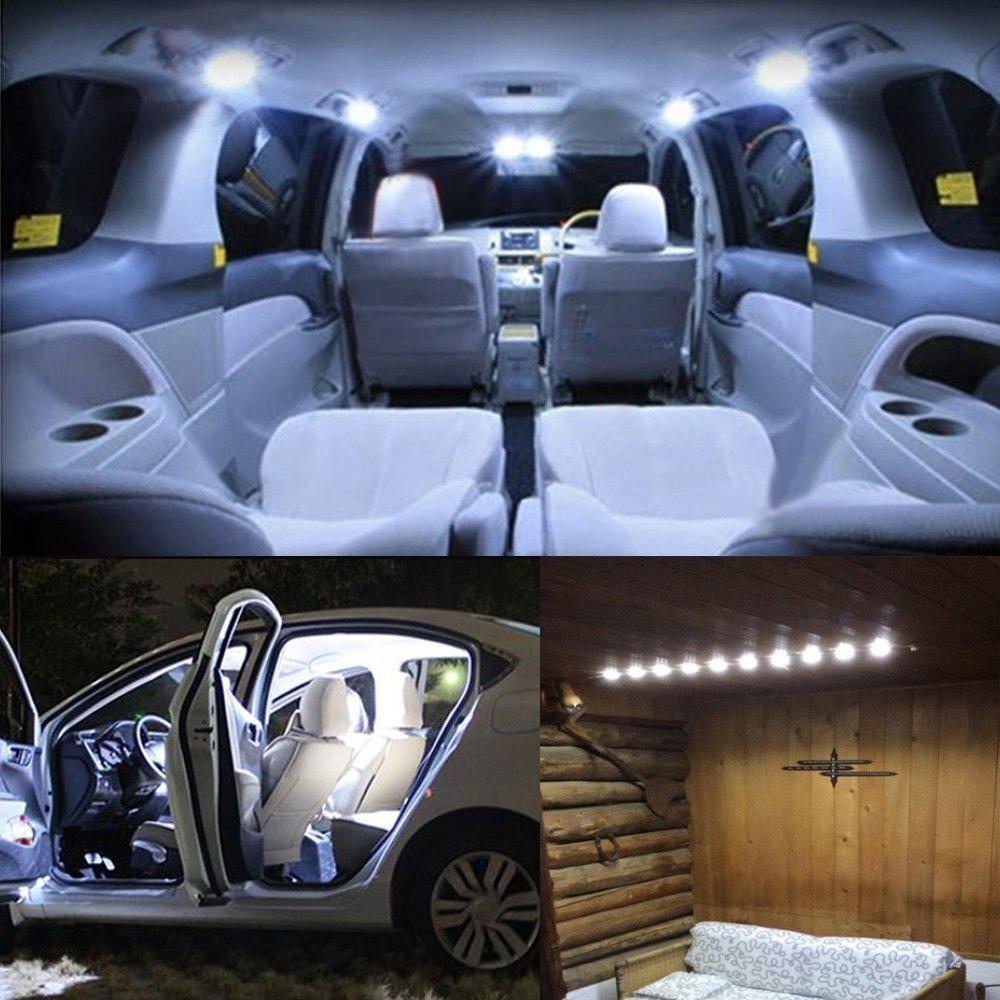 lampe interieur auto 30 led plafonnier vehicule dc 12v voiture camion camping