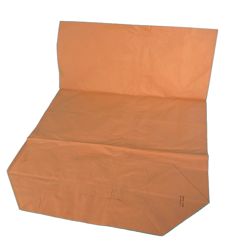 Lote de 100 bolsas de basura de papel orgánico, 120 L, color ...