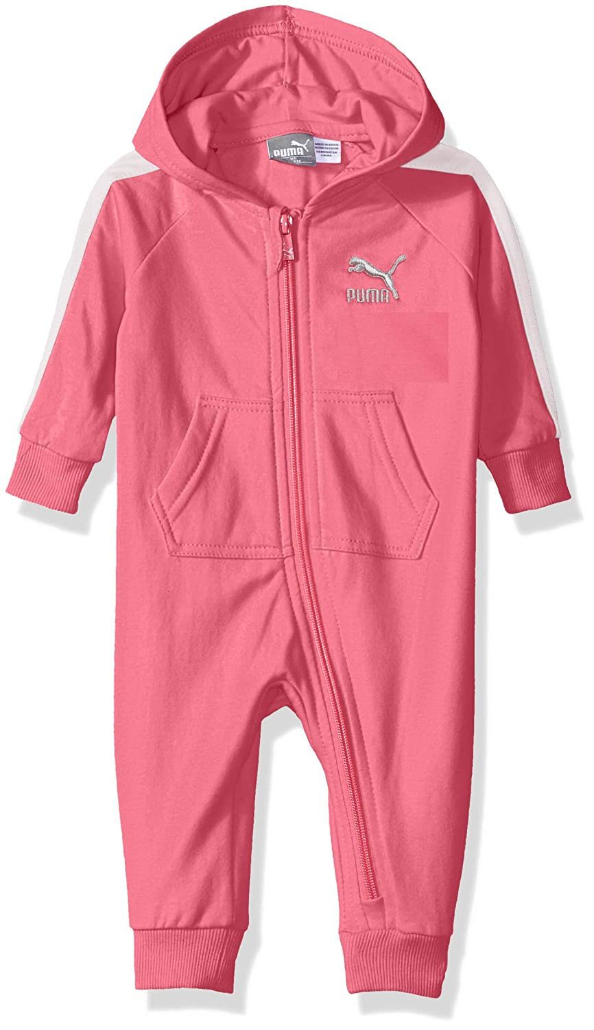 PUMA Baby Girls' Fleece Pram, Knock Out Pink, 3-6M