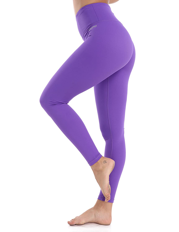 XTUPO High Waist Yoga Pants Tummy Control Leggings Soft Slim Workout Leggings 4 Way Stretch Fabric