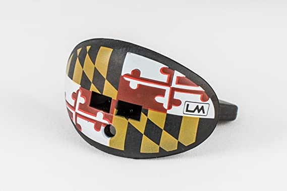 Loudmouth Football Mouth Guard | Flags (multiple Colors) Adult and Youth Mouth Guard | Flag Design Mouth Piece for Sports | Maximum Dual Action Air ...