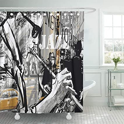Amazon Com Emvency 72 X78 Shower Curtain Waterproof Home Decor