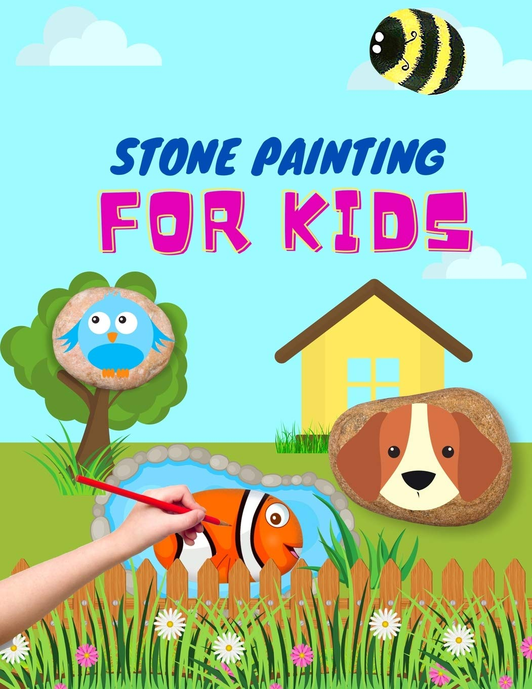 Stone Painting For Kids Rock Painting Books For Girls And Boys Painted Rocks Ideas Painting Rocks For Kids Schulz Lotte 9798690630300 Amazon Com Books