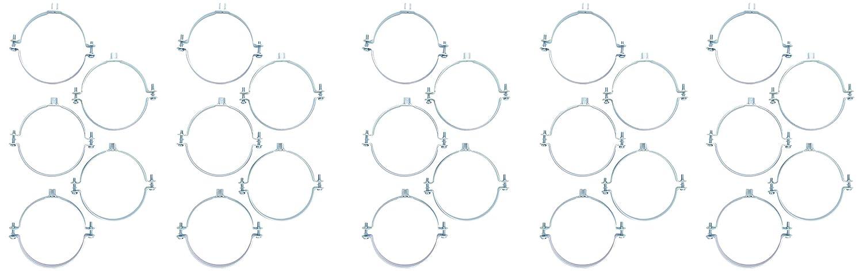 Fischer Rohrschelle FRSN 131-136, M 8/M 10, 50010