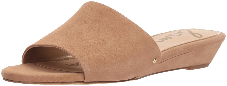 Sam Edelman Women's Liliana Slide Sandal B076TDQ6BT 5.5 B(M) US|Golden Caramel Suede