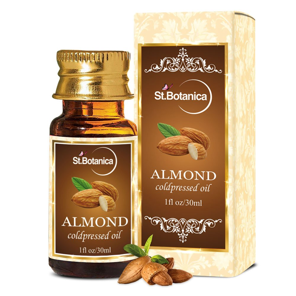 Stbotanica sweet almond oil 30ml pure coldpressed oil for hair stbotanica sweet almond oil 30ml pure coldpressed oil for hair skin amazon beauty fandeluxe
