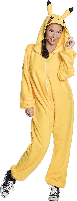 Rubie's Adult Pokemon Pikachu Costume Jumpsuit