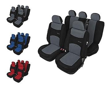 Sitzbezüge Sitzbezug Schonbezüge für Toyota Avensis Schwarz Modern MG-1 Set