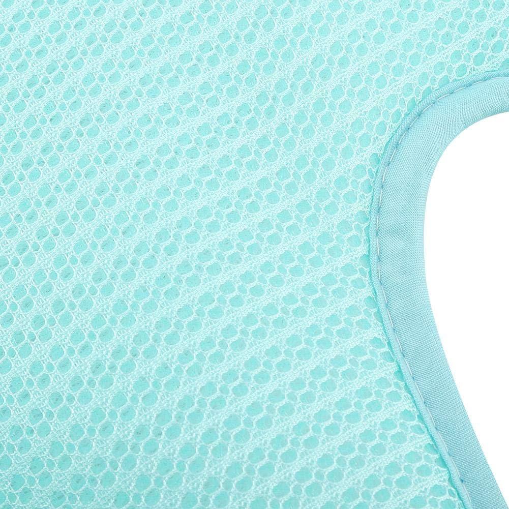 Estate Seta Ghiaccio Cuscino del Sedile del Passeggino Stile 5 Punti Carrello Copriseduta per Passeggino Tappetino Traspirante Carrozzina Scopo Generale Stuoie della Carrozzina Blu