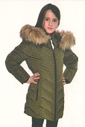 Girls Military Parka