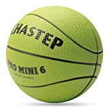 Chastep Mini Basketball 6 inch Foam Ball. Soft and Bouncy, Non-Toxic, Safe to Play