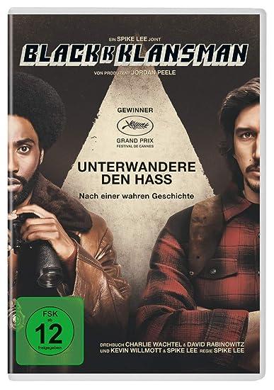 Cover: DVD-Spielfim BlackkKlansman (1 DVD, circa 130 min) – Oscarpreisträger 2019