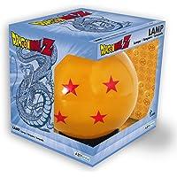 Dragon Ball 3D LED Mood Light Crystal Ball oranje/zwart, kunststof, met USB-aansluiting, in geschenkdoos.