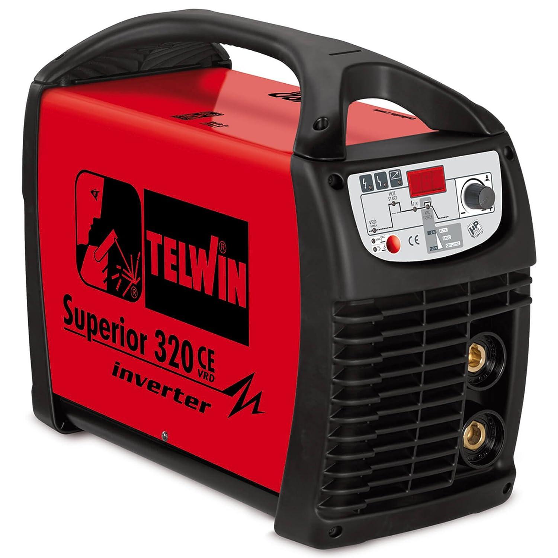 Telwin superior 320 CE vrd electrodo sudor dispositivo Wig sudor ...
