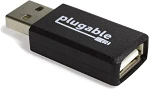 Plugable USB Universal Fast 1A Charge-Only Adapter for Android, Apple iOS, and Windows Mobile Devices
