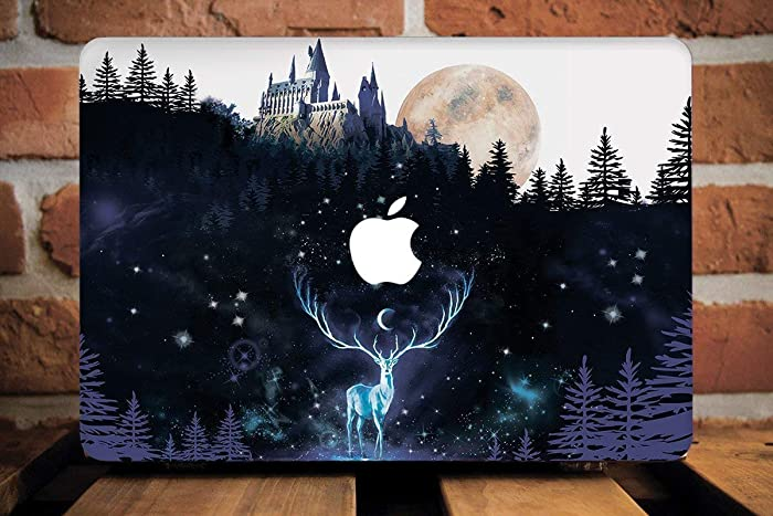 promo code 4ede3 d607a Amazon.com: Harry Potter Macbook Pro Case With Printed Bottom Hard ...
