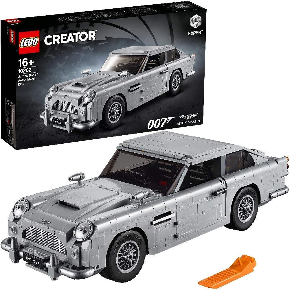 Lego 10262 Creator Expert James Bond Aston Martin Db5 Building Kit Multicolour Amazon Co Uk Toys Games