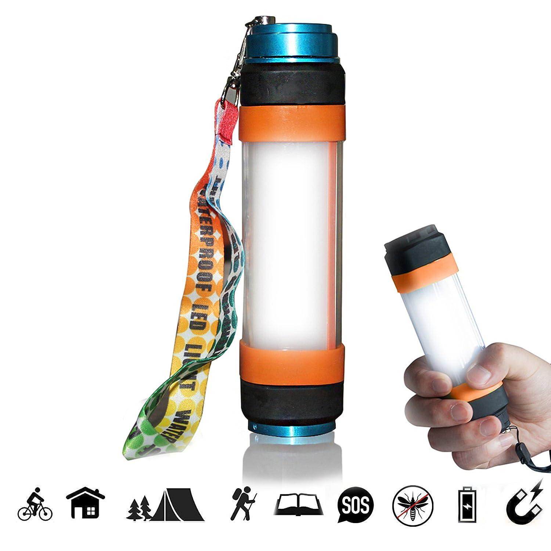 LED 懐中電灯 充電式 モバイルバッテリー2500mah |RESPECTING