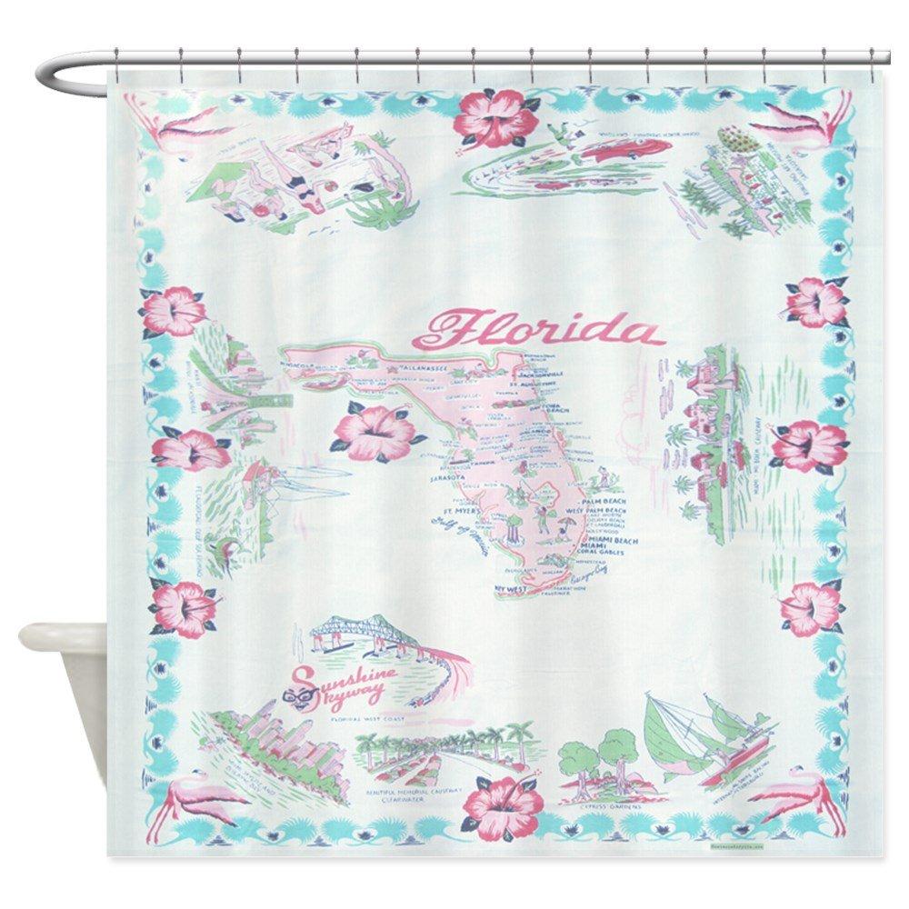 Amazon CafePress Vintage Florida Tablecloth Shower Curtain Decorative Fabric 69x70 Home Kitchen