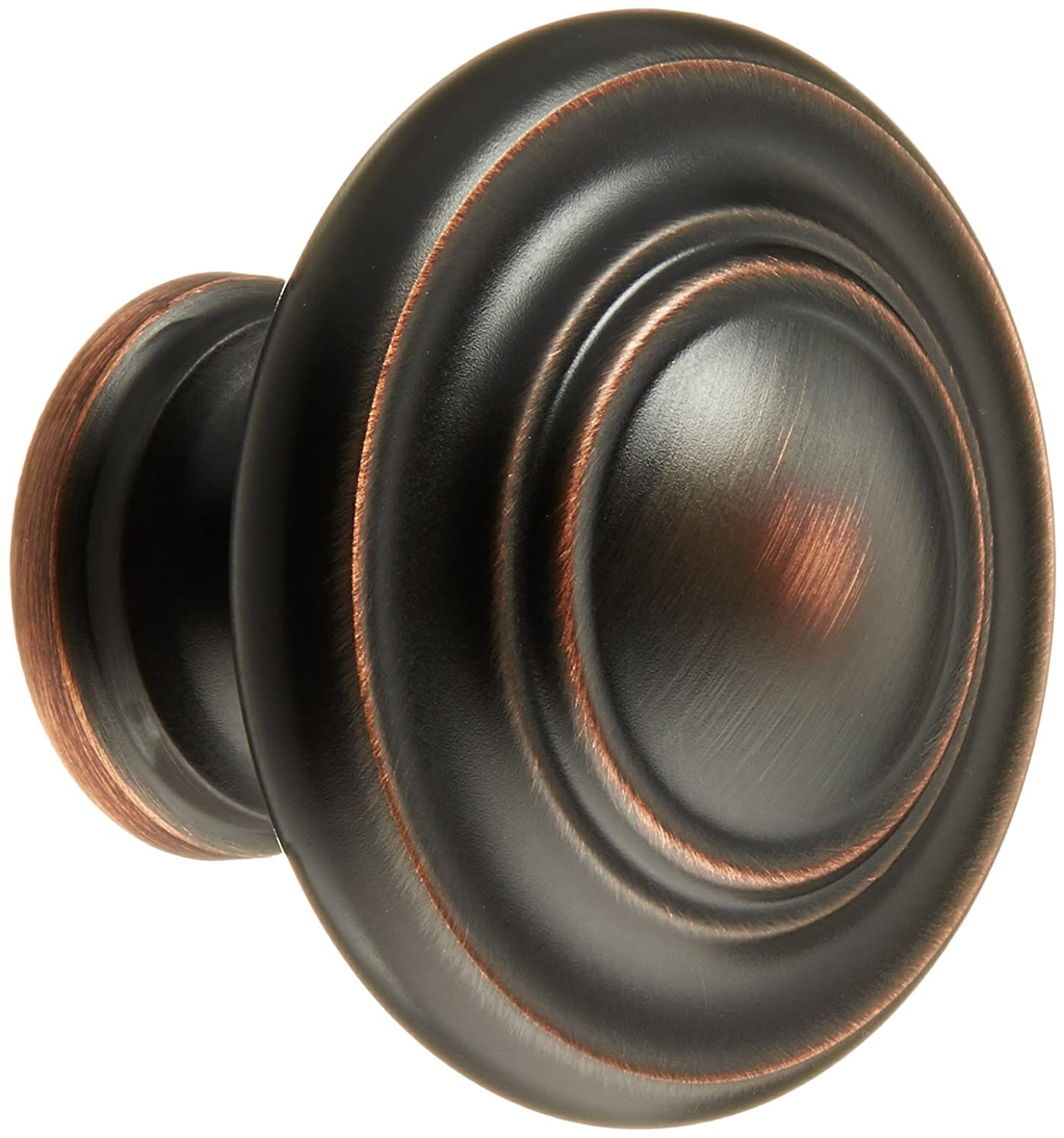 Amerock BP1586-2-ORB Inspirations 3-Ring Large Oversized 1-3/4 Inch Diameter Oil Rubbed Bronze Round Cabinet Hardware Knob/Bi-fold Closet Door Knob - 10 Pack