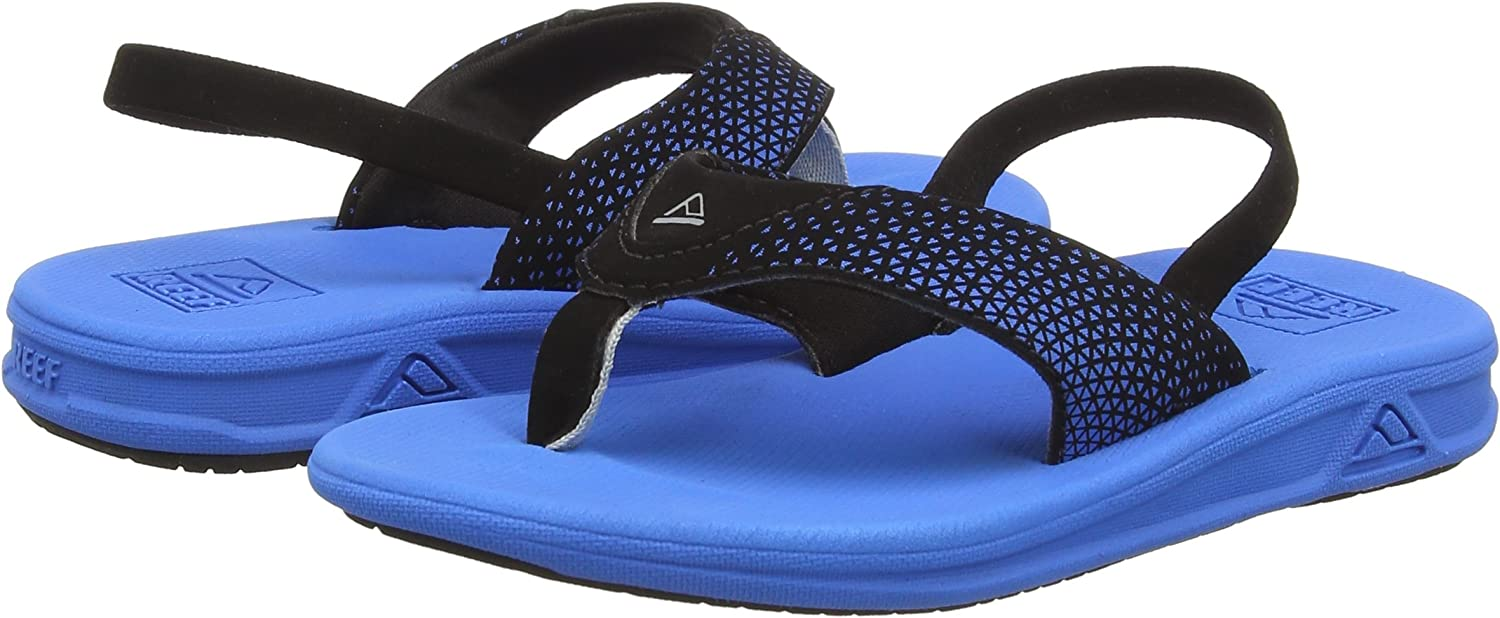 Flip Flops for Toddlers Waterproof Boys with Soft Cushion Footbed Reef Boys Litte Rover Sandals